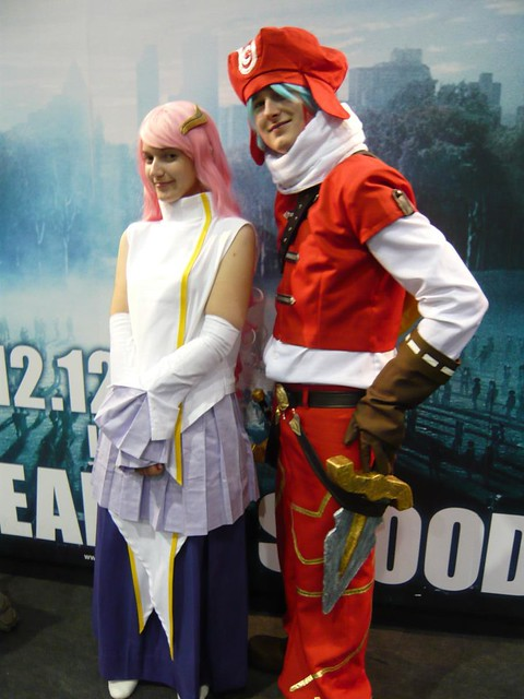 Lacus and .hack cosplay - London MCM Expo (Saturday 25th October 2008)