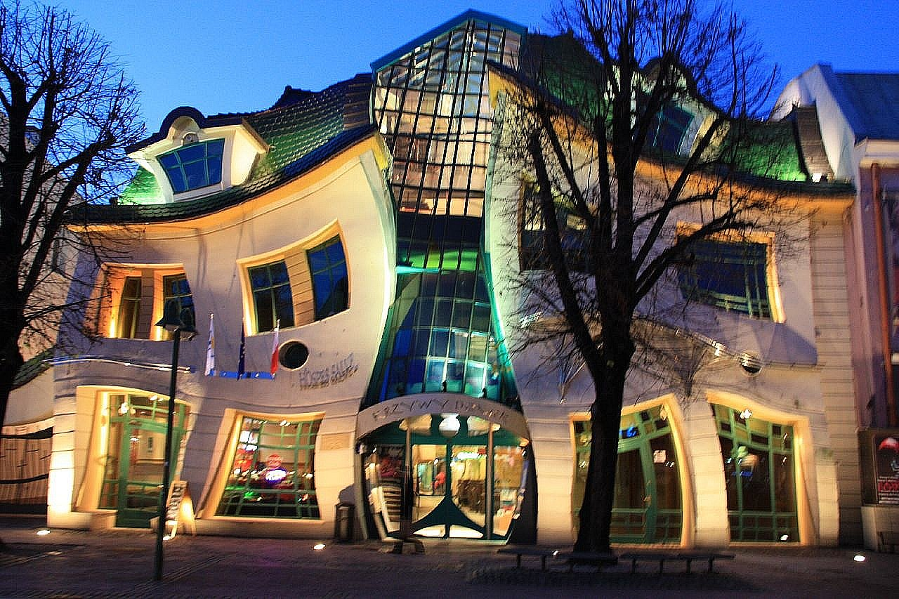 Maison tordue à Sopot - Pologne 3068218582_afc99e7fac_o