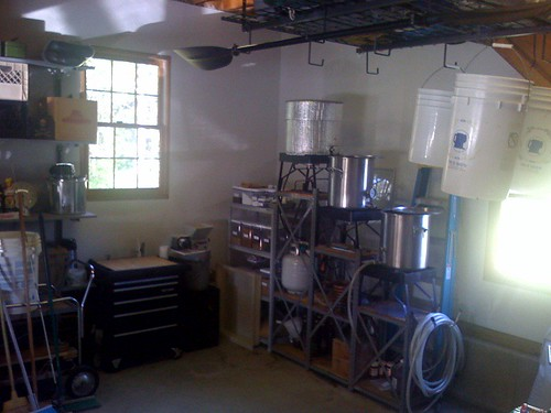 Eric's Brewing Workspace
