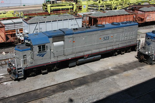 Amtrak GP38H-3 top