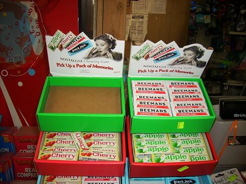 blackjack chewing gum