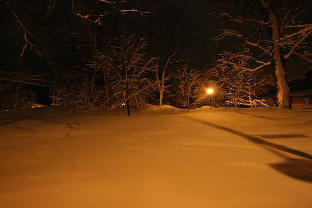 La ville et la neige