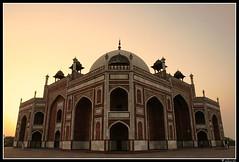Humayun's Tomb | Wide angle view