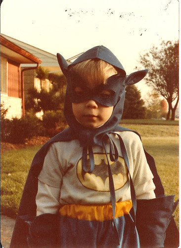 Bruce Wayne has nothing on this kid.