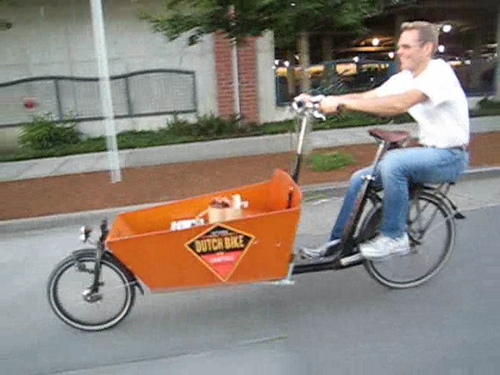 Dutch Bike Goes Lowrider