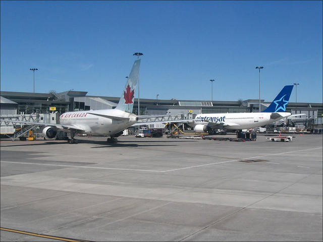 air canada boeing 767 and air transat airbus a310 montr 233 flickr photo