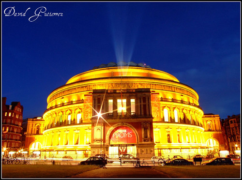 Blue Hour at the London Royal Albert Hall
