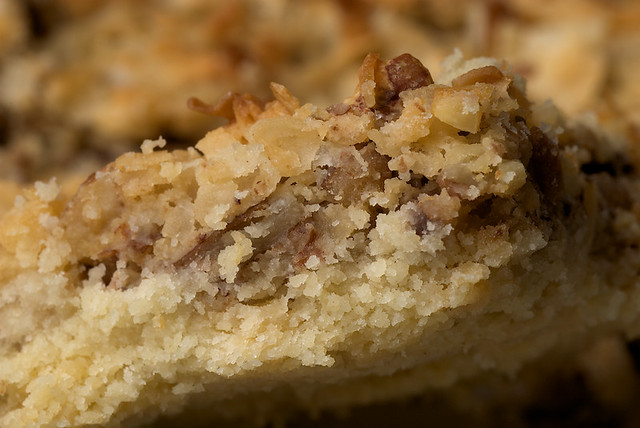 Coconut Pecan Shortbread Squares | Flickr - Photo Sharing!