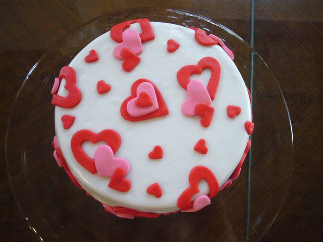Heart Fondant Cake Images : HEART FONDANT CAKE Flickr - Photo Sharing!