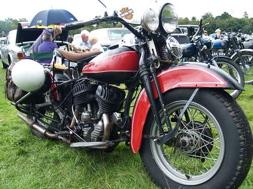 Harley Davidson Motorbikes - 1950