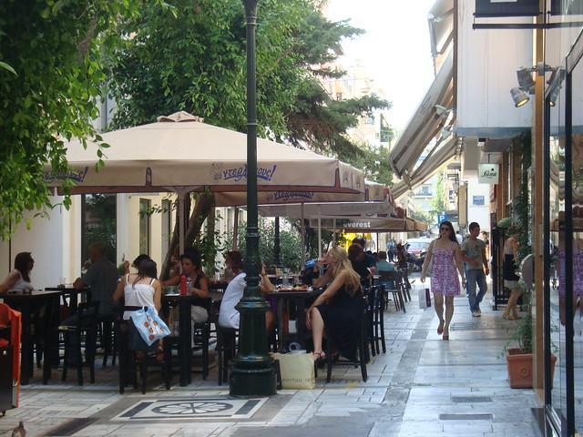 Kolonaki (Κολωνάκι), Athens (Αθήνα)