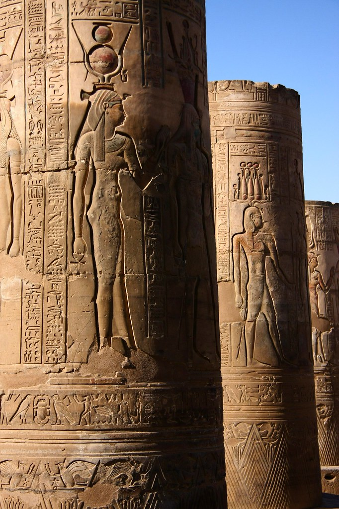 Isis At Kom Ombo Temple