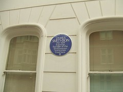 Photo of James Smithson blue plaque