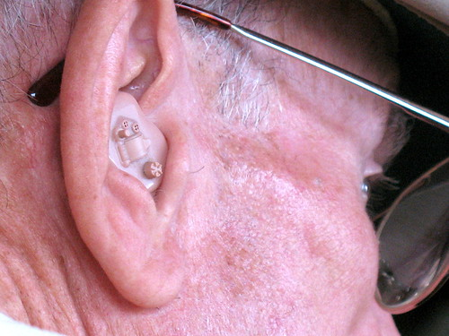 hearing aid close-up