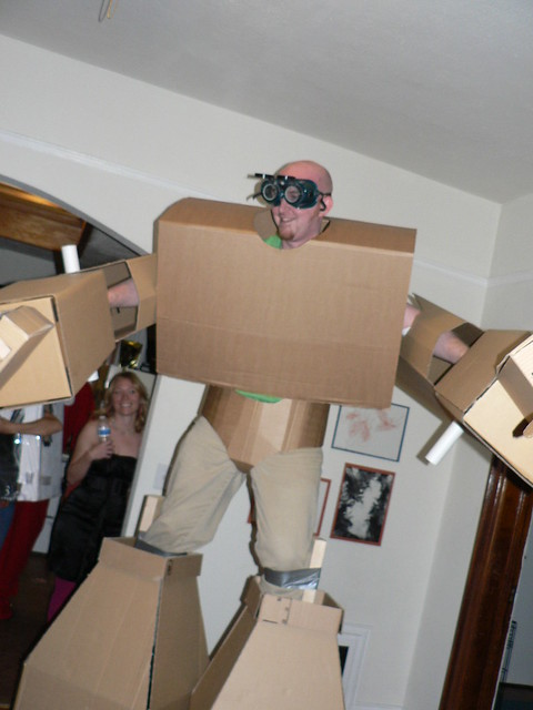 Cardboard Suit in Colorado
