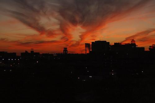 sunset clouds day cloudy memphis sunsetclouds memphistn canonef50f18 canonxti redishyellow paulchandlermoulton