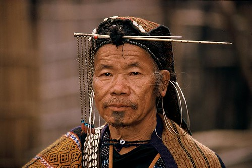 India - Arunachal Pradesh - Apatani man