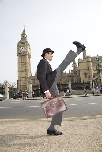 Silly Walks - Big Ben