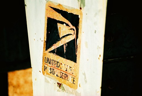 USPS mailbox in XPRO Velvia