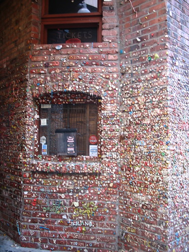 Bubble Gum Wall in Post Alley