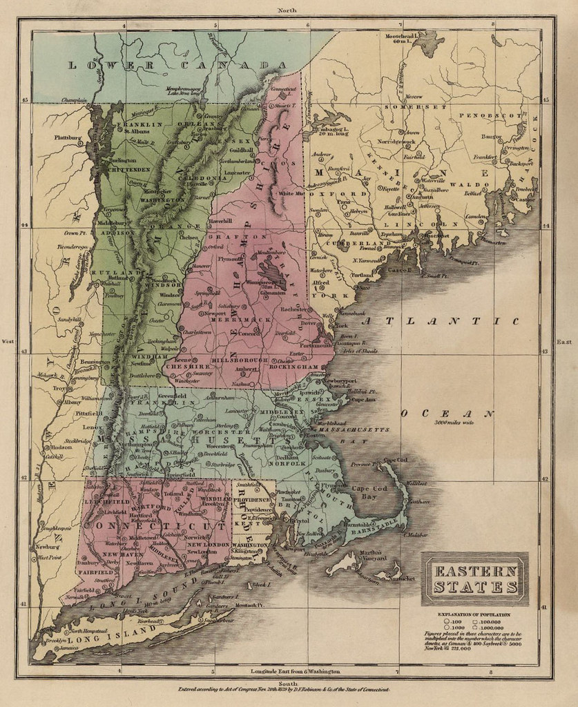 Map of the Eastern States of the United States - 1837 | Flickr United States Map on europe map 1837, united states territories 1798 to 1846, new york map 1837, texas map 1837, canada map 1837, united states congressional districts,