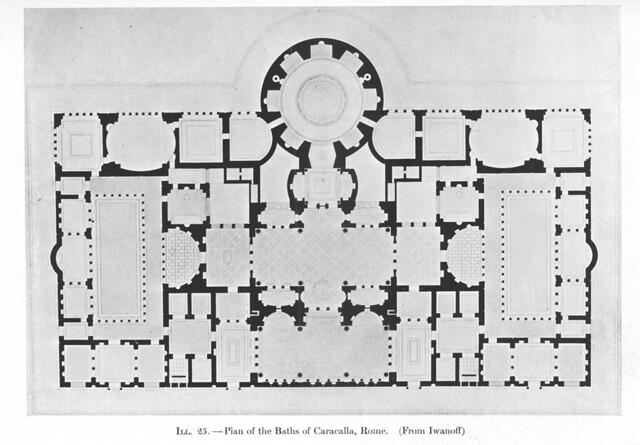 Baths of Caracalla: Plan | Flickr - Photo Sharing!
