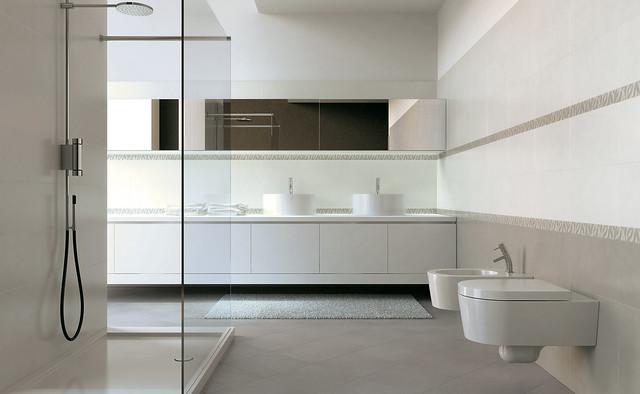 Carrelage salle de bain esprit paris venise novoceram for Carrelage salle de bain paris