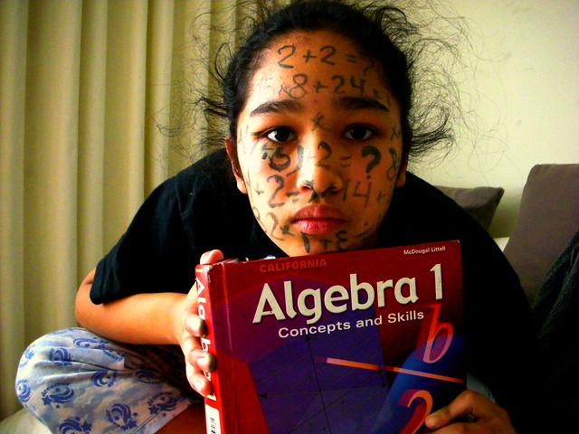 Math Head - Day 20, Nikon COOLPIX S7c