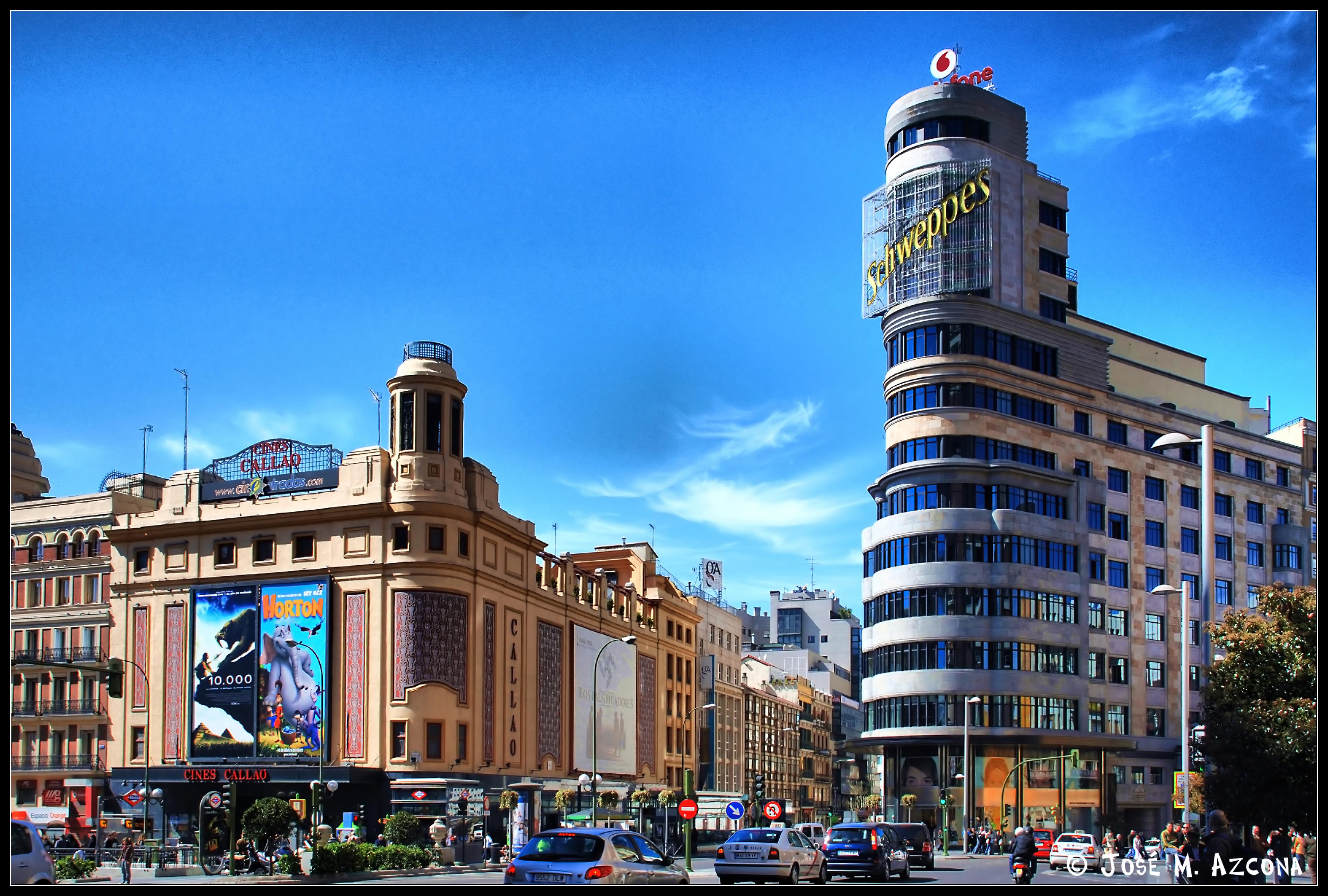 Madrid plaza de callao flickr photo sharing - Garden center madrid ...