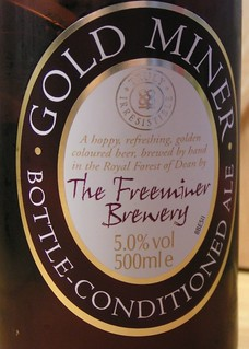 Freeminer Brewery (Co-op), Gold Miner, England