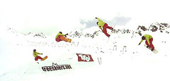 ski equipment(0.0), freestyle skiing(0.0), ski cross(0.0), ski(0.0), skiing(0.0), downhill(0.0), snowboarding(1.0), winter sport(1.0), sports(1.0), snowboard(1.0), extreme sport(1.0), illustration(1.0),
