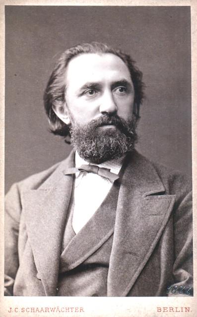 Portrait of Franz Reuleaux (1829-1905), Engineer