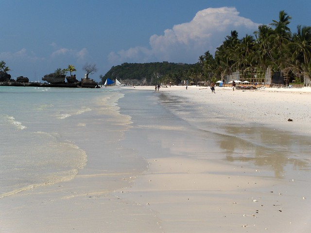 Beach at Borocay, Philippines