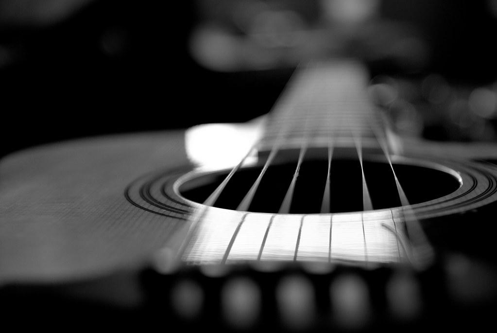 Acoustic Guitar Portrait