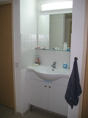 floor, room, property, bathroom cabinet, interior design, plumbing fixture, bathroom,