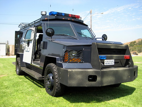 Glendale PD SWAT Vehicle - Bearcat