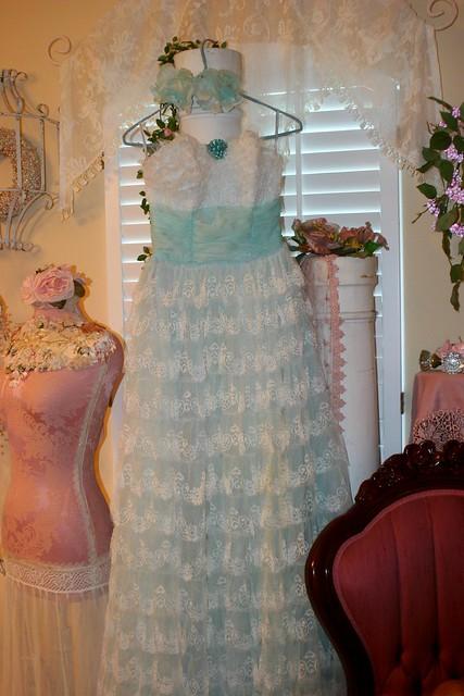 Aqua Vintage Prom Dress Flickr Photo Sharing
