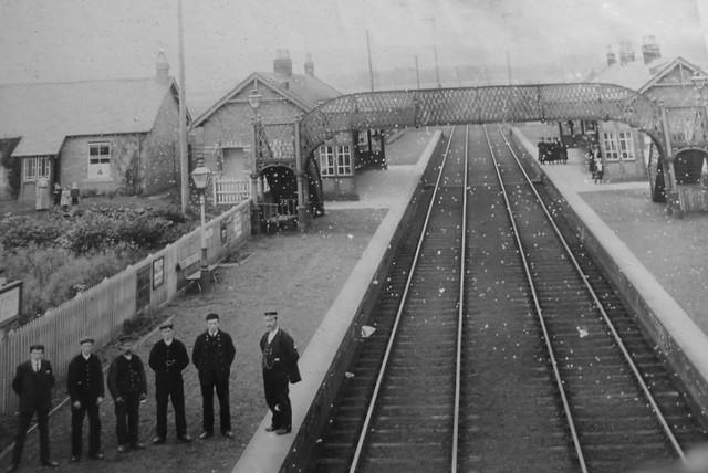 Loch Leven Station Circa 1910 Flickr Photo Sharing