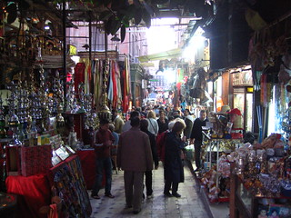 The Khan el-Khalili market in Cairo, Egypt