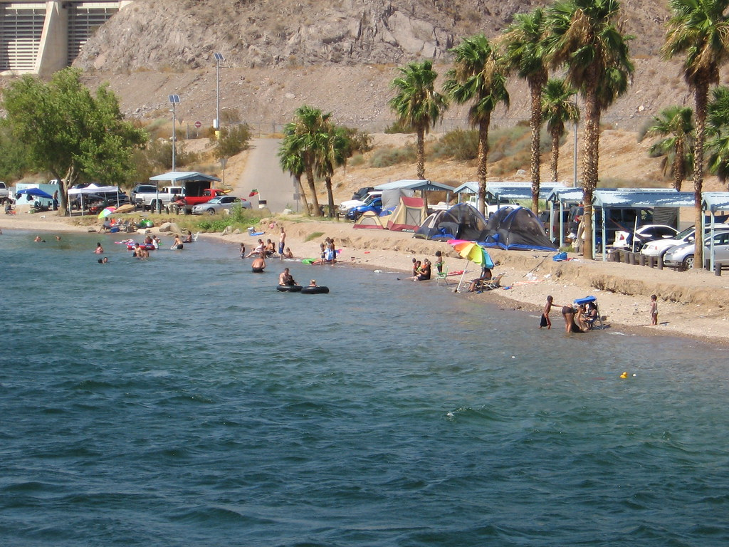 Sportsman paradise county campground nevada around guides for Laughlin camping cabins