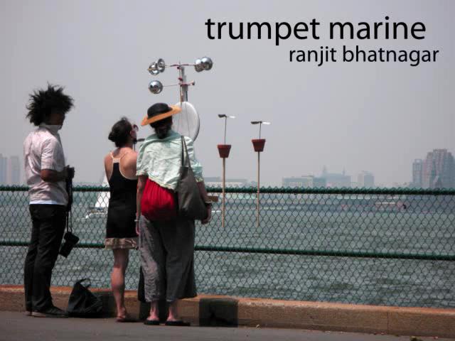 trumpet marine at figment 2008