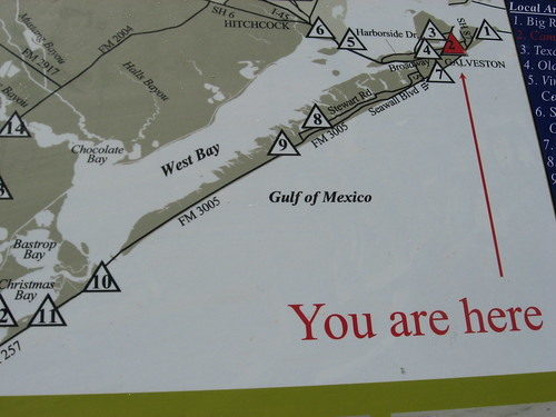 Galveston Map