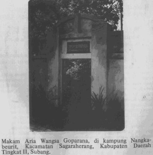 Makam Aria Wangsa Goparana