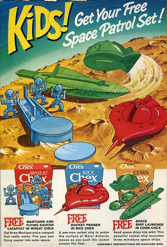 Chex Space cereal premiums