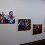 Life on Mars exhibition canvases