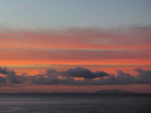 santabarbara clouds sunrise pacific rincon electionday carpinteria anacapa