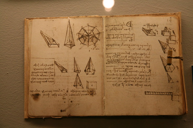 Leonardo Notebook from Flickr via Wylio