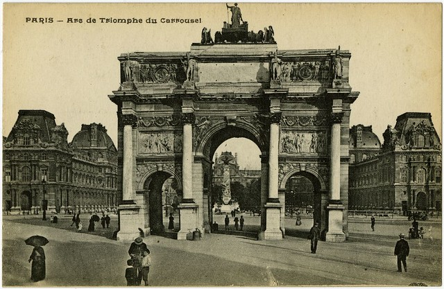 PARIS - Arc de Triomphe du Carrousel