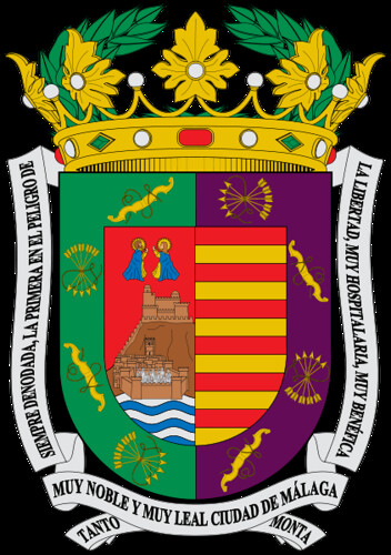Escudo de m laga flickr photo sharing - Bandera vivar malaga el viso ...