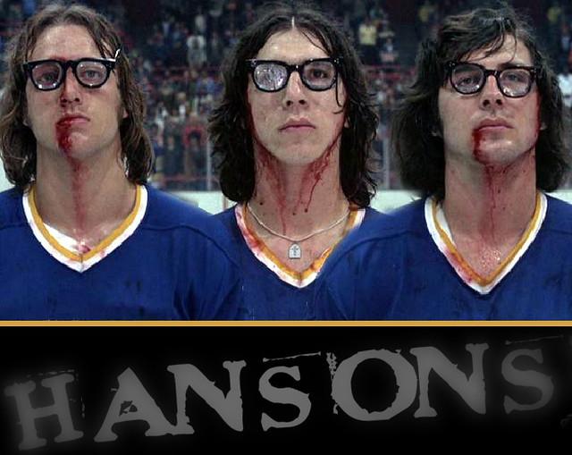 Hanson Brothers Slap Shot 2
